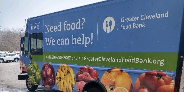 Greater Cleveland Food Bank Truck