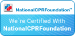 National CPR Foundation badge